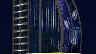 Проект подсветки отеля