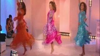 Shems-ou-Sabah, 3 danseuses orientales sur IDF1