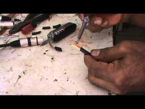 Cable para micrófono con conectores canon