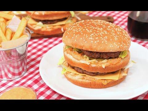 Prepara Las Hamburguesas Big Mac En Casa