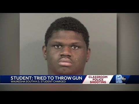 Waukesha student shot by police faces formal charges