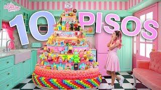 GIGANTESCO PASTEL DE 10 PISOS | ESHPESHIAL 10 MILLONES | MIS PASTELITOS
