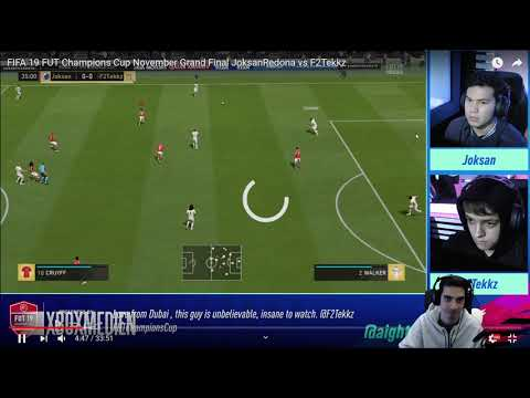 GRAND FINAL – JOKSAN VS F2TEKKZ – GAMEPLAY ANALYSIS/BREAKDOWN – FIFA 19 ULTIMATE TEAM