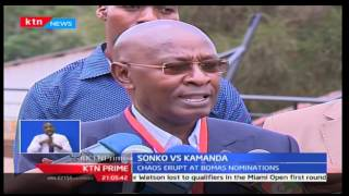 Chaos erupt at Bomas nominations after Mike Sonko's supporters clashed with those of Maina Kamana