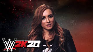Becky Lynch & Roman Reigns Talk WWE 2K20 Cover - including Gameplay Footage!