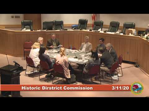 Historic District Commission 3.11.2020