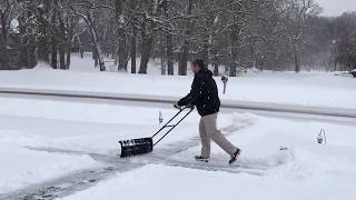 Perfect Shovel by Nordic Plow - How to Avoid Heart Attack while shoveling this winter