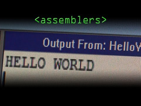 Hello World (Assemblers, Considered Harmful!?) – Computerphile