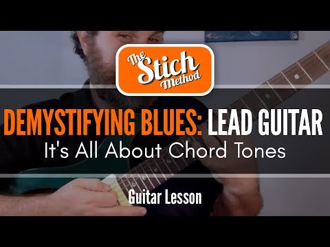 Super Easy: Enhancing Your Blues Solo With Chord Tones (With Chart)