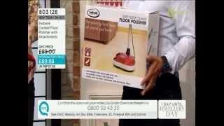 Ewbank Corded Floor Polisher QVC Demonstration