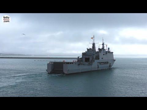 El buque Castilla deja la operación contra la piratería en el Índico tras una avería en un eje