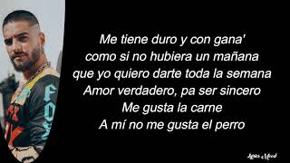 Farina, Maluma   Así Así LETRA