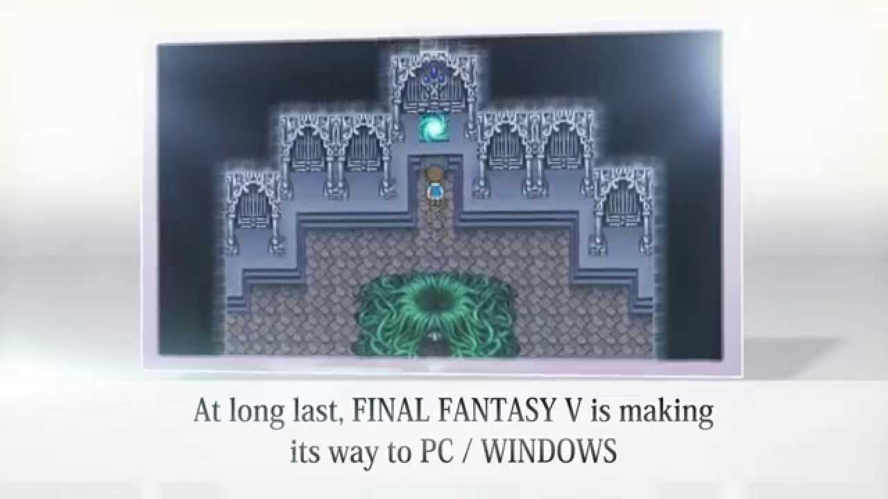 Video FINAL FANTASY® V [Steam]
