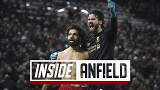 Inside Anfield: Liverpool 2-0 Manchester United | Incredible scenes after Salah's late strike