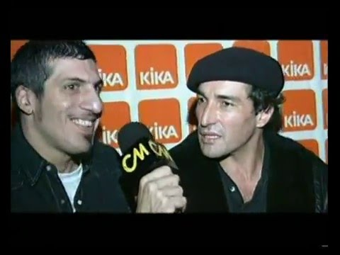 Willy Crook video Fuego Amigo - Entrevista Presentación 2004