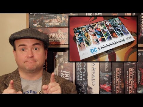 The Discriminating Gamer: DC Deck Building Game: Confrontations