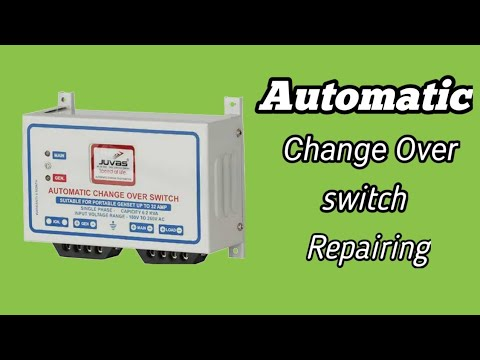 Automatic Changeover Switches - Auto Changeover Switch