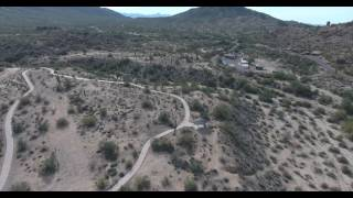 Flying a drone at South Mountain Park in Phoenix, AZ