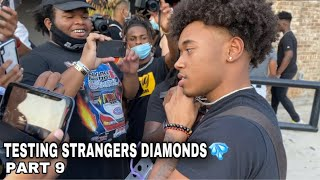 TESTING STRANGERS DIAMONDS🥶💎PT. 9 FT. SMOOTHGIO & DESHAE FROST | PUBLIC INTERVIEW