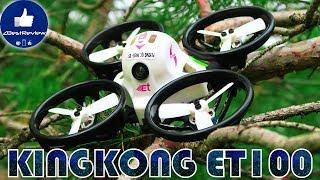 ✔ Годный FPV Микро Квадрокоптер - KINGKONG ET100 Для Дома и Улицы! Gearbest!