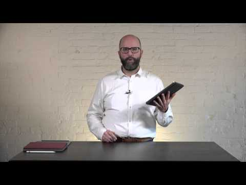 Contega Thin iPad Air 10.5 Case Video