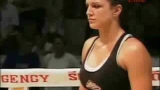 Gina Carano Fight Tribute (MMA \ Muay Thai)