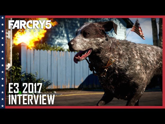 Far Cry 5: E3 2017 Boomer Is a Very Good Boy