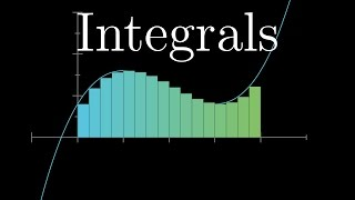 What is an integral?  How do you think about it?Check out the Art of Problem Solving: https://aops.com/3blue1brownFull playlist: http://3b1b.co/calculusSupport for these videos comes primarily from Patreon:https://patreon.com/3blue1brownSpecial thanks to the following patrons: http://3b1b.co/eoc8-thanks------------------3blue1brown is a channel about animating math, in all senses of the word animate.  And you know the drill with YouTube, if you want to stay posted about new videos, subscribe, and click the bell to receive notifications (if you're into that).If you are new to this channel and want to see more, a good place to start is this playlist: http://3b1b.co/recommendedVarious social media stuffs:Website: https://www.3blue1brown.comTwitter: https://twitter.com/3Blue1BrownPatreon: https://patreon.com/3blue1brownFacebook: https://www.facebook.com/3blue1brownReddit: https://www.reddit.com/r/3Blue1Brown