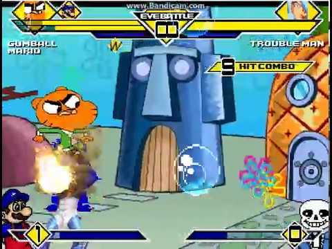 Team Gumball vs Team Tinky Winky MUGEN BATTLE - Patrick Estêvão