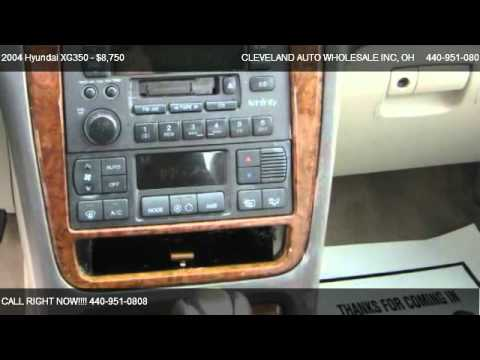 Hyundai XG350 L @ CLEVELAND AUTO WHOLESALE INC