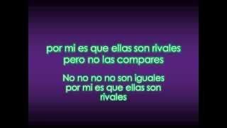 Daddy Yankee   La nueva y la Ex   Letras
