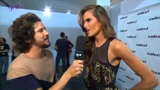 Backstage With Izabel Goulart Pra Colcci Spfw