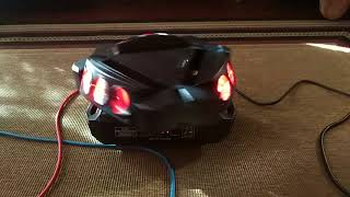 lixada 90w 9 led rgbw mini dreieck spiderbeam - मुफ्त