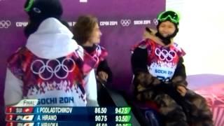 ソチオリンピック、平野歩夢、平岡卓!決勝!