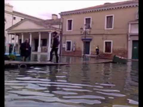 Pippo Zaccaria Chioggia acqua alta
