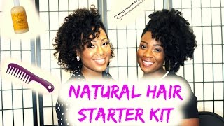 Natural Hair Starter Kit for Newly Naturals