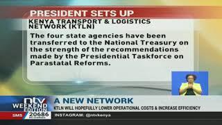 President Kenyatta sets up KTLN to increase efficiency in port, railway operations
