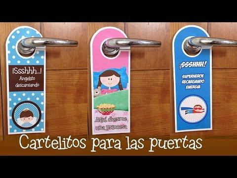 Colgadores para puertas divertidos | Manualidades para niños