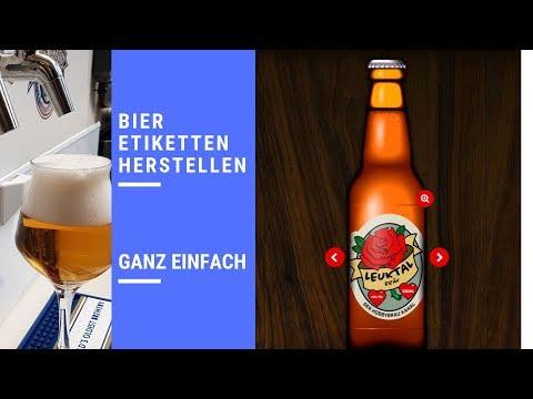 Etiketten erstellen mit #Beerlabelizer