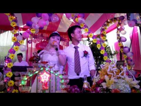Cô dâu hát tại đám cưới cực hay tại Nghệ An