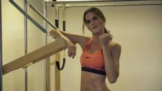 Izabel Goulart Does Pilates   Supermodel Prep For Victorias Secret   VOGUE PARIS