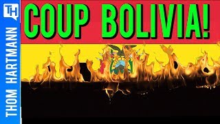 Right Wing Oligarchs Behind Bolivian Coup Exposed!