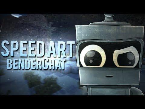 Speed Art - BenderChat (Бендер)