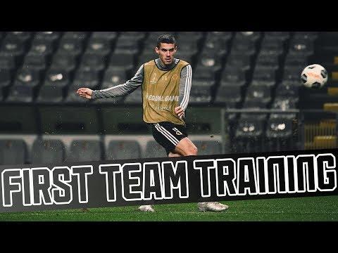 First team training in Braga!