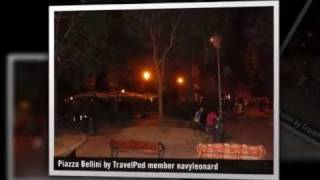 preview picture of video 'Piazza Bellini - Naples, Campania, Italy'