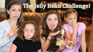 The BEAN BOOZLED Jelly Bean Challenge | Brooklyn and Bailey