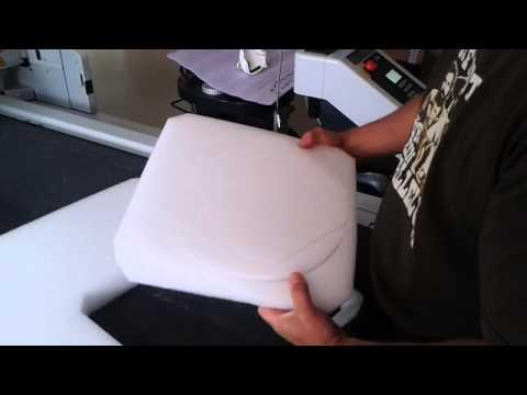 Schneidanlage - PE-Schaum für Verpackungen