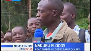 Roads impassable as floods rock parts of Nakuru
