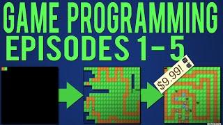 Java Game Programming Episodes 1-5: Starting our Game