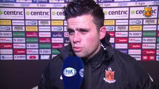 Reactie Glenn Kobussen na Jong Sparta - HHC Hardenberg